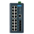 16FE+4SFP Port Managed Ethernet Switch Wide Temp