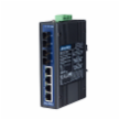 4+2 100FX Port S.M. Unmanaged Ethernet Switch