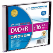 Esperanza 1119 - 5905784763347 - 200 1119 - DVD+R - karton 200 [ slim jewel case 1 4.7GB 16x ]