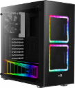 AeroCool AEROPGSTOR-BG-RGB Obudowa ATX TOR RGB TEMPERED GLASS - 2x140mm RGB FAN, 1x120mm BLACK FAN